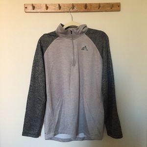 Adidas gray pullover
